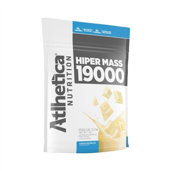 HIPER MASS 1900- Athletica Nutrition- 3,2kg