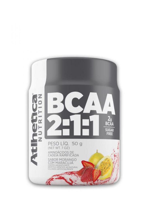 BCAA 2:1:1 - 50g - Atlhetica Nutrition