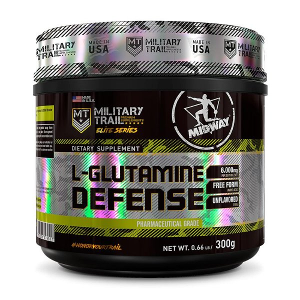 L-GLUTAMINE DEFENSE - 300g - Midway Military Trail