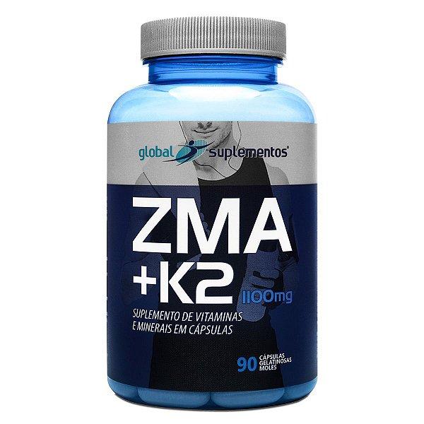 ZMA +K2 - Global Suplementos - 90 cápsulas