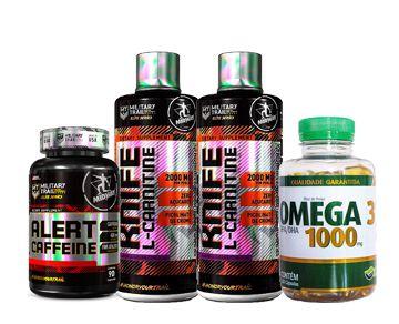 ALERT CAFFEINE 90CAPS + 2 KNF + OMEGA 3 120CAPS