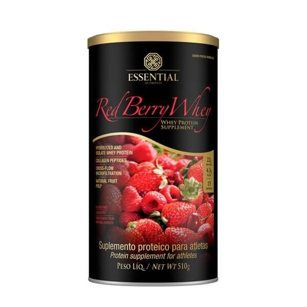 RED BERRY WHEY - LATA - 510g
