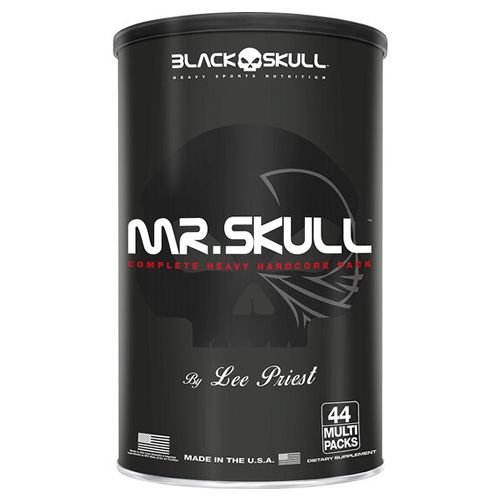 MR. SKULL - 44 MULT PACKS - BLACK SKULL