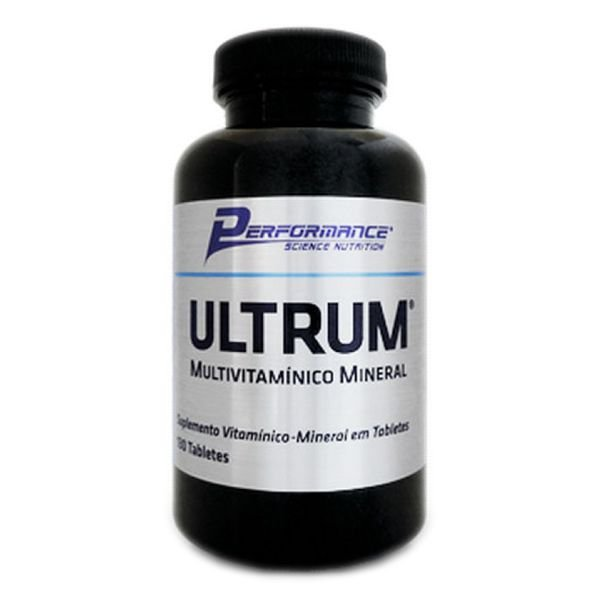 ULTRUM MULTIVITAMÍNICO MINERAL - 100 TABLETES - PERFORMANCE
