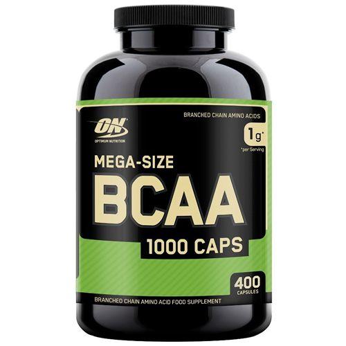 MEGA-SIZE BCAA 1000 CAPS 1g | 400 CÁPSULAS - ON