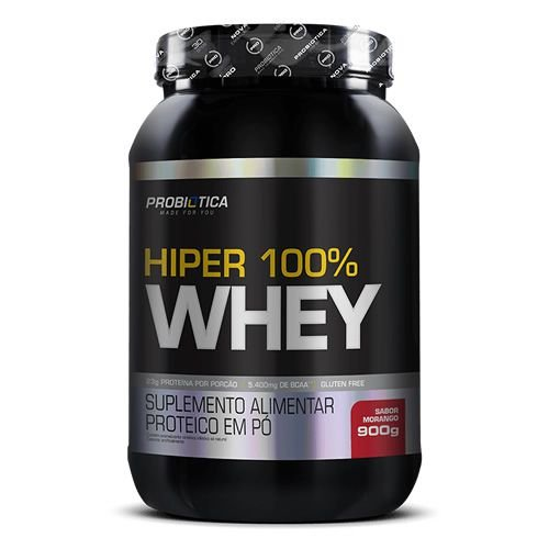 HYPER 100% WHEY - 900g PROBIÓTICA