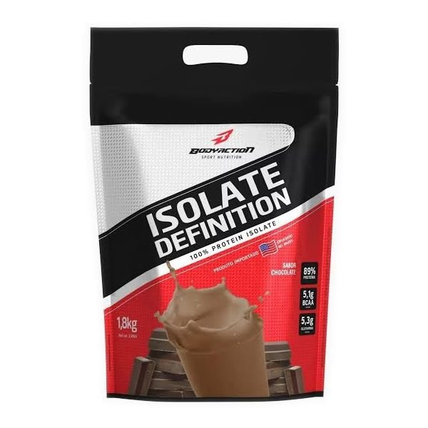 WHEY ISOLATE DEFINITION REFIL - 1,8kg - BODY ACTION