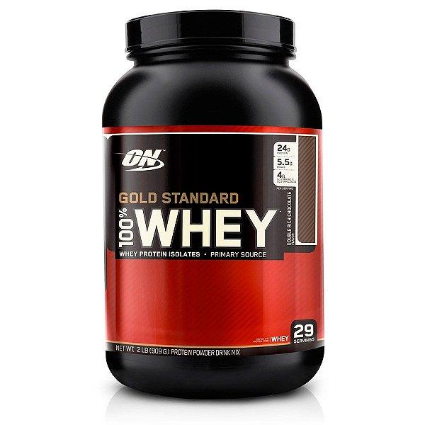 GOLD STANDART 100% WHEY PROTEIN - 900g - Optimum Nutrition