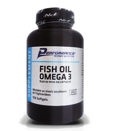Omega 3 Performance 100 tabletes de 1000mg