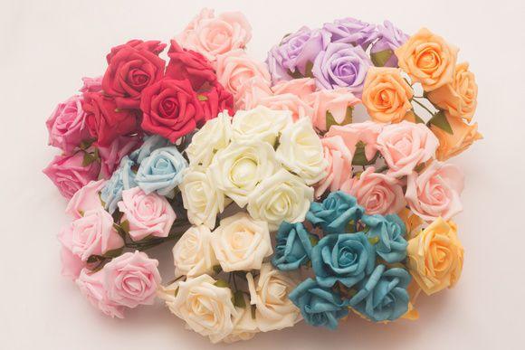 Buque de flores de EVA, cores