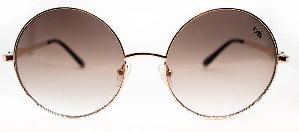 Óculos De Sol Feminino Chilli Beans Redondo Rosa