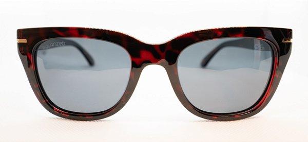 Óculos De Sol Feminino Chilli Beans Quadrado Tartaruga