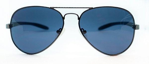 Óculos de Sol Masculino Chilli Beans Aviador Preto