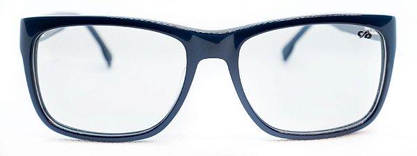 Óculos de Grau Chilli Beans Masculino Azul