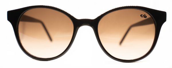 Óculos de Sol Feminino Chilli Beans Redondo Marrom Escuro