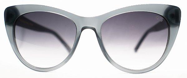 Óculos de Sol Feminino Chilli Beans Gatinho Preto Transparente
