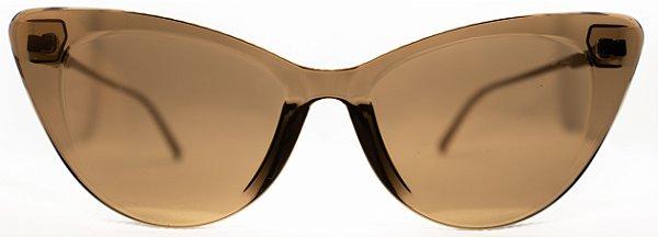 Óculos de Sol Feminino Chilli Beans Gatinho Dourado