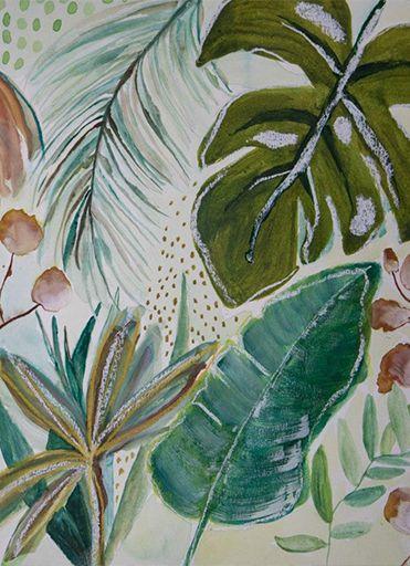 Papel de Parede Fauna Tropical