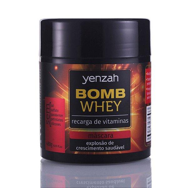 YENZAH BOMB WHEY MÁSCARA 480G
