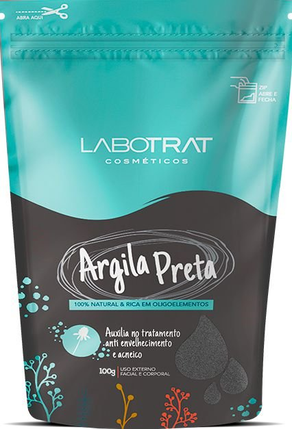 LABOTRAT ARGILA PRETA 100G