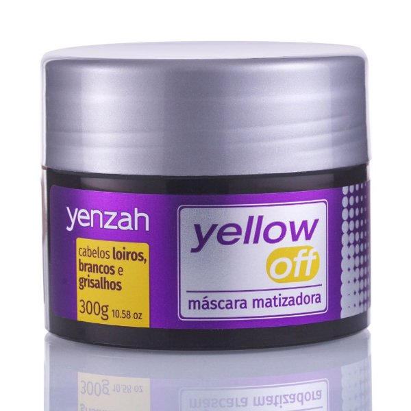 YENZAH YELLOW OFF MÁSCARA MATIZADORA 300G