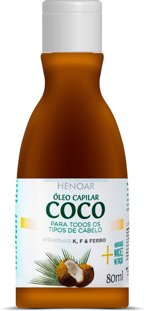 LABOTRAT HENOAR ÓLEO CAPILAR DO COCO 80ML