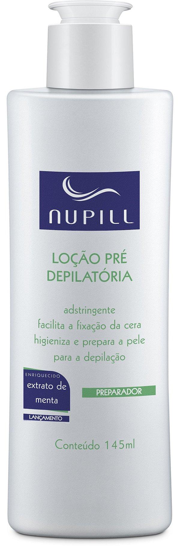 NUPILL LOÇÃO PRÉ DEPILATÓRIA 145ML