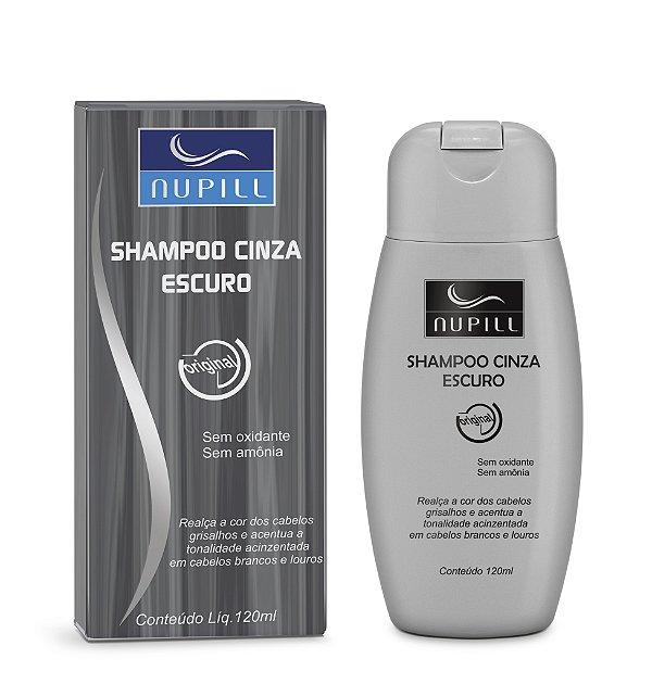 NUPILL SHAMPOO CINZA ESCURO 120ML