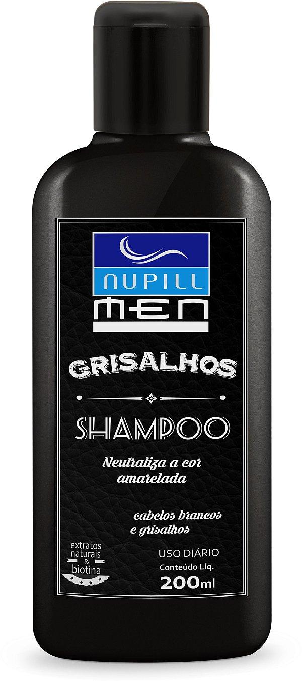 NUPILL MEN SHAMPOO GRISALHOS 200ML