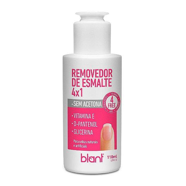 BLANT REMOVEDOR DE ESMALTE 4x1 SEM ACETONA 110ML