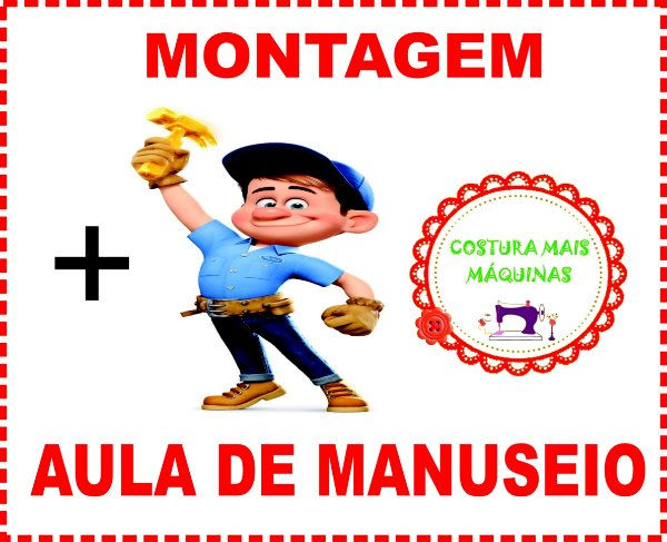 Montagem Completa + Aula de Manuseio (SOMENTE PARA O RIO DE JANEIRO)