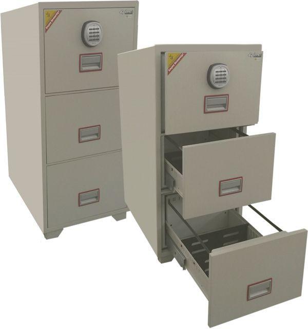 Arquivo Cofre Antifogo AC 3E para guarda e proteção de documentos