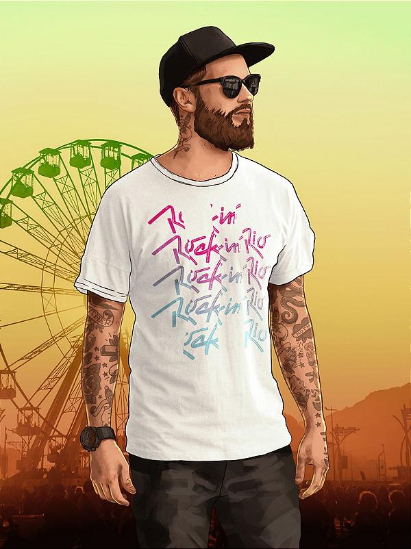 Camiseta Frequency Branca