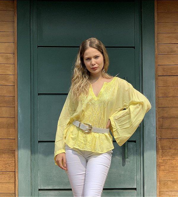 Blusa amarela bobstore - M