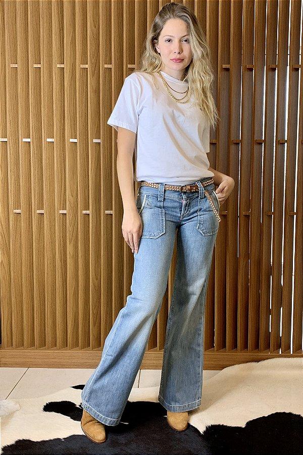 Caça jeans pantalona diesel - 36