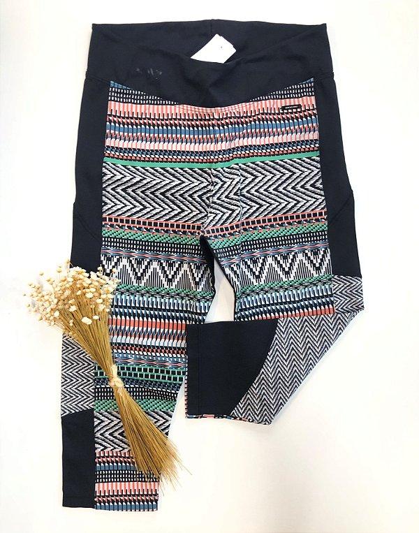 Calça legging estampada