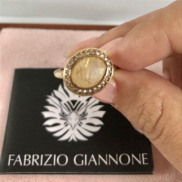 Fabrizio Giannone - anel pedra natural