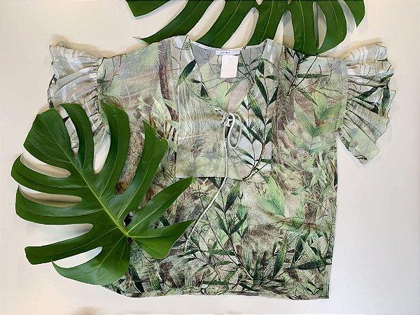 Blusa crepe de seda - 42
