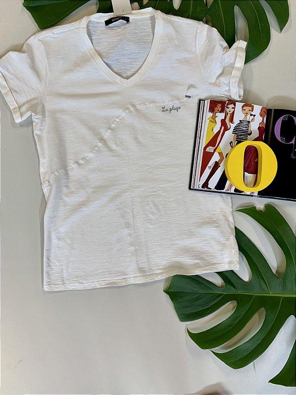 T-shirt branca - P