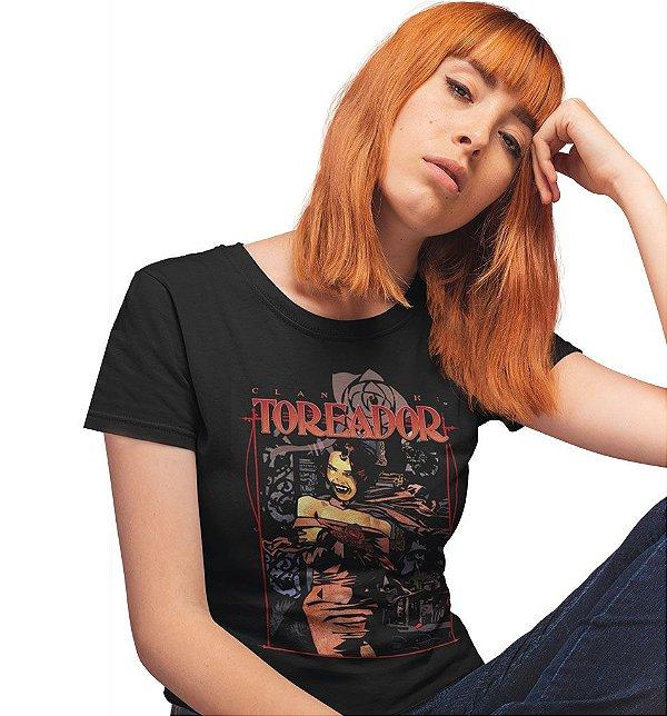 Camiseta Livro do Clã Toreador – Vampiro, A Máscara