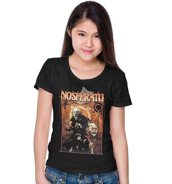 Camiseta Livro do Clã Nosferatu – Vampiro, A Máscara