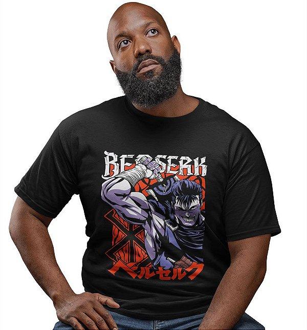 Camiseta Berserk – Espadachim Negro