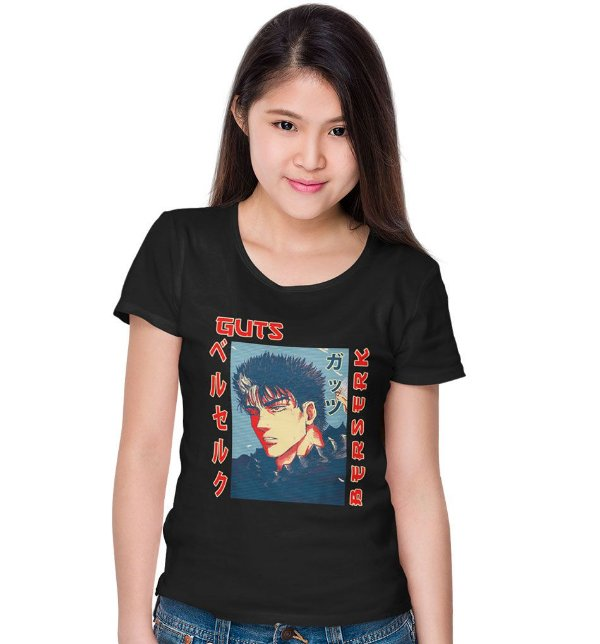 Camiseta Berserk – Guts e Puck
