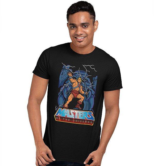 Camiseta He-Man – Mestres do Universo