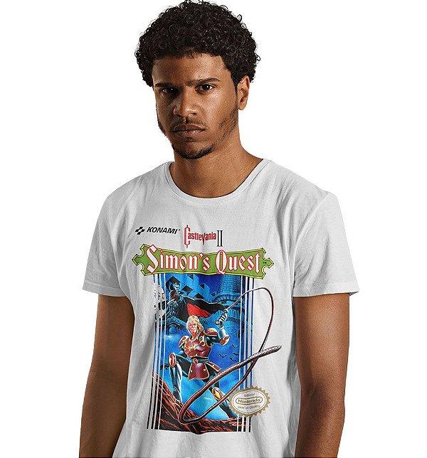 Camiseta Castlevania - Simon's Quest