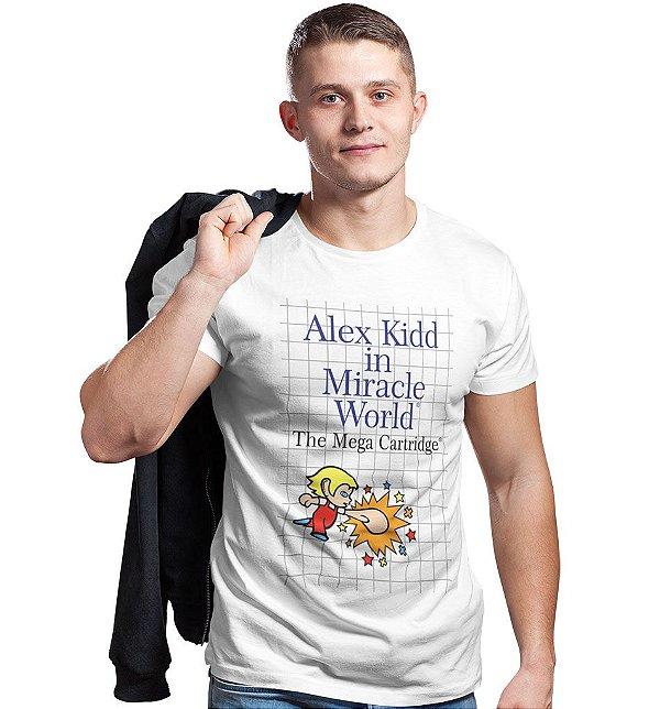 Camiseta Alex Kidd in Miracle World