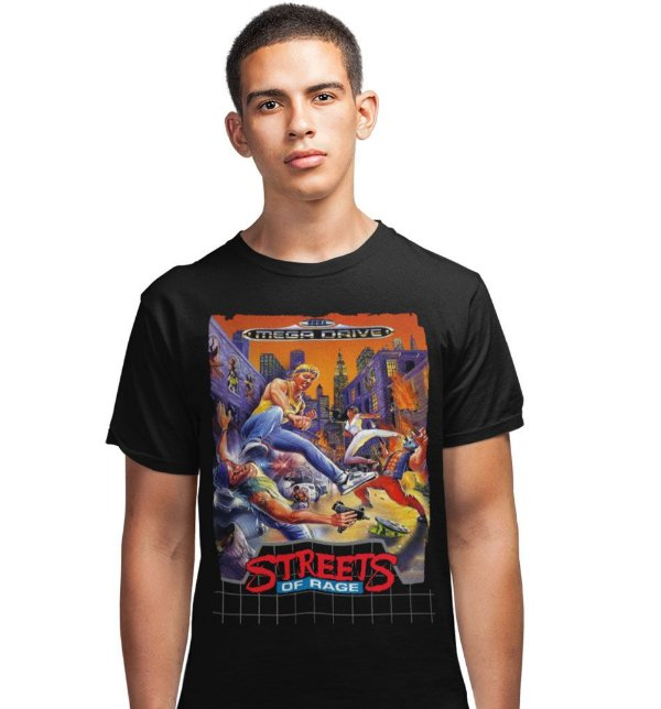 Camiseta Mega Drive – Streets of Rage