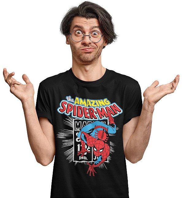 Camiseta O Espetacular Homem Aranha 2