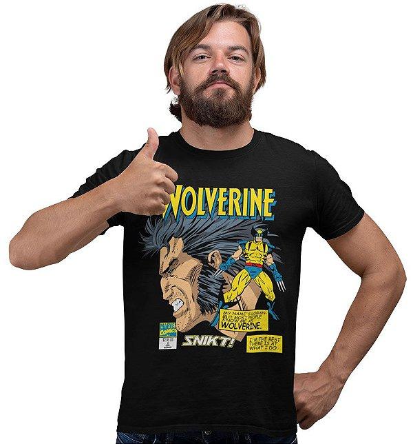 Camiseta X-Men – Wolverine