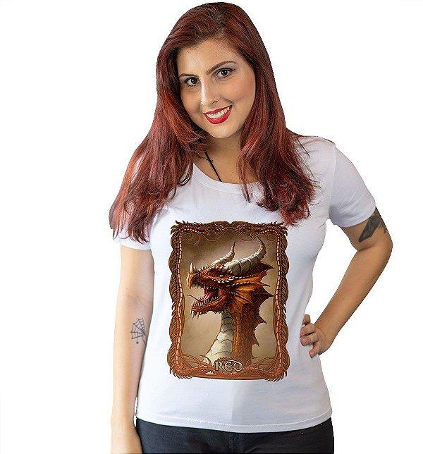 Camiseta Dungeons & Dragons - Dragão Cromático Vermelho